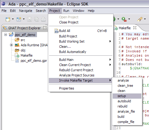7  Building — GNATbench for Eclipse User's Guide 20 0