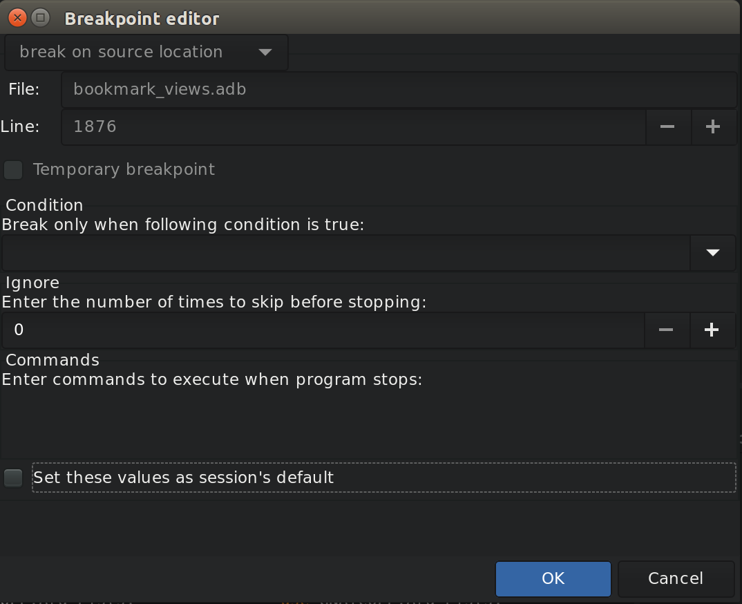 10  Debugging — GPS 20 0w documentation